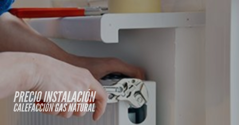 precio instalacion calefaccion gas natural