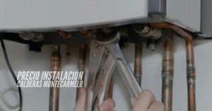 Precio instalación calderas Montecarmelo
